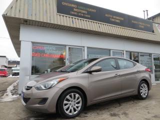 Used 2011 Hyundai Elantra GL AUTOMATIC,HEATED SEATS,BLUETOOTH for sale in Mississauga, ON