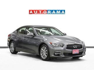 Used 2015 Infiniti Q50 AWD Navigation Leather Sunroof Backup Cam 360Cam for sale in Toronto, ON