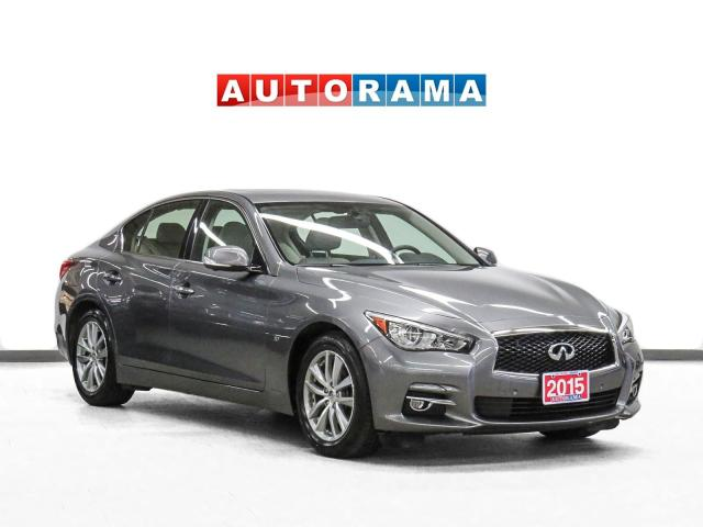 2015 Infiniti Q50 AWD Navigation Leather Sunroof Backup Cam 360Cam