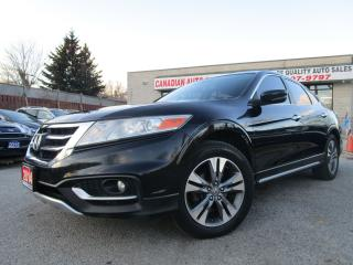 Used 2014 Honda Accord Crosstour EX-L-4WD-NAVI-CAM-LTHER-ROOF-V6-BLTOOT-ALLOY for sale in Scarborough, ON