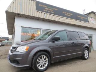 Used 2015 Dodge Grand Caravan SXT  FULL STOW AND GO,ALLOYS,REAR A/C for sale in Mississauga, ON