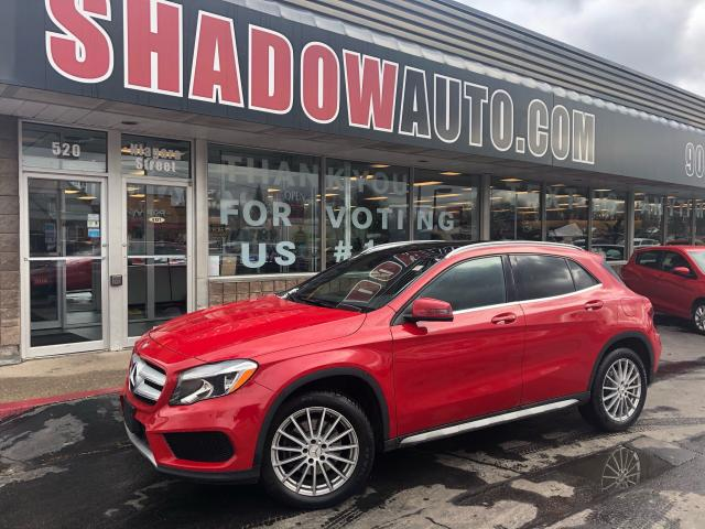 2017 Mercedes-Benz GLA 4MATIC - BUPCAM-LEATHER-PANO ROOF-MEMORY & HSEATS