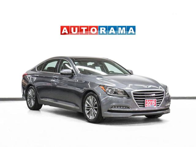 2015 Hyundai Genesis Tech Pkg AWD Nav Leather PanoRoof Backup Cam