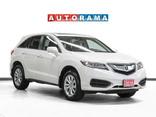 Used 2016 Acura RDX Tech Pkg 4WD Nav Leather Sunroof Backup Cam for sale in Toronto, ON