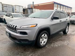 Used 2015 Jeep Cherokee Sport 4X4  REAR CAM/HTD SEATES for sale in Brampton, ON