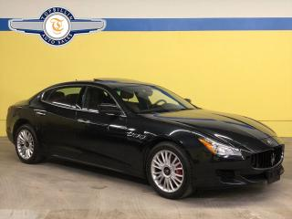 Used 2014 Maserati Quattroporte S Q4 AWD, Clean CarFax - Accident Free for sale in Vaughan, ON