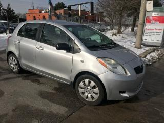 Used 2008 Toyota Yaris 4DOOR,AUTO,H/BACK,SAFETY+3YEARS WARRANTY INCLUDED for sale in Toronto, ON