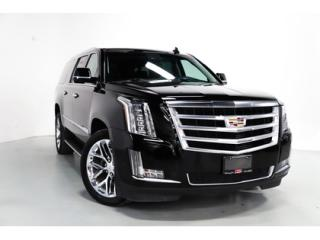 Used 2017 Cadillac Escalade ESV LUXURY   7-PASS   WARRANTY   HEADS UP   NAVI for sale in Vaughan, ON
