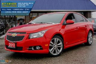 Used 2013 Chevrolet Cruze 2LT for sale in Guelph, ON
