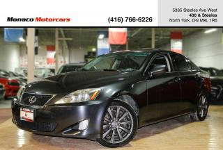 Used 2008 Lexus IS 250 IS250 AWD - SUNROOF|PUSH START|LEATHER for sale in North York, ON