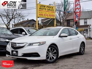 Used 2015 Acura TLX Tech*Leather*Sunroof*Auto*AcuraWarranty* for sale in Toronto, ON