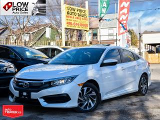 Used 2016 Honda Civic Sedan Ex*AllPowerOpti*HtdSeats*Camera*BlindSpot&More! for sale in Toronto, ON