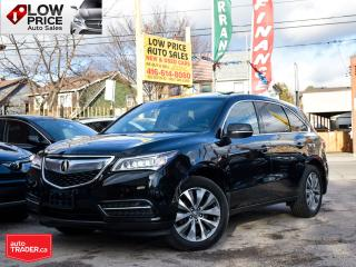 Used 2016 Acura MDX AllPwrOpti*Navi*Camera*BlindSpot*ExtraClean* for sale in Toronto, ON