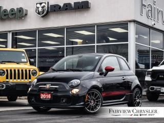 Used 2016 Fiat 500 Abarth l SOLD BY JANELLE THANK YOU!!! l for sale in Burlington, ON