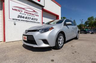 Used 2016 Toyota Corolla Low KMS.* A/C *Power Group for sale in Winnipeg, MB