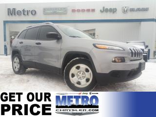 Used 2016 Jeep Cherokee SPORT 4X4 for sale in Ottawa, ON