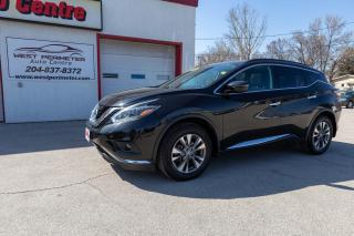 Used 2018 Nissan Murano SV *Pano Roof*Nav*Htd. Seats*Power Liftgate** for sale in Winnipeg, MB