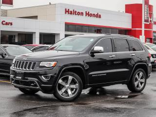 Used 2016 Jeep Grand Cherokee OVERLAND|NO ACCIDENTS for sale in Burlington, ON