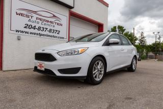 Used 2017 Ford Focus SE**Bluetooth* Heated Seats* Back Up Cam* for sale in Winnipeg, MB