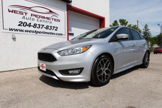 Used 2015 Ford Focus SE BLUETOOTH, BACKUPCAM, ALLOY WHEELS for sale in Winnipeg, MB