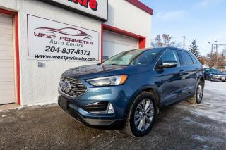 Used 2019 Ford Edge Titanium AWD*Park Assist*Heated & Cooled Leather** for sale in Winnipeg, MB