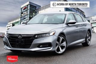 Used 2018 Honda Accord Sedan 2.0T Touring 10AT Head-Up Display| Remote St for sale in Thornhill, ON