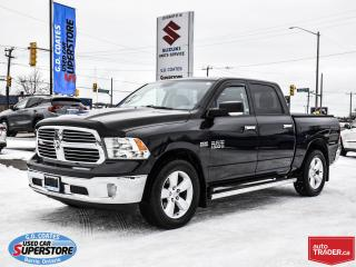 Used 2016 RAM 1500 SLT Crew Cab 4x4 ~Nav ~Cam ~Heated Seats + Wheel for sale in Barrie, ON