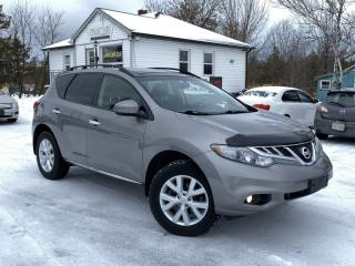 Used 2012 Nissan Murano No-Accidents AWD  Leather Pano Roof Back Up Cam BOSE Audio for sale in Sutton, ON
