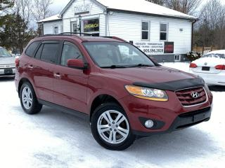 Used 2011 Hyundai Santa Fe 1-Owner No-Accidents AWD V6 Limited Leather Sunroof for sale in Sutton, ON