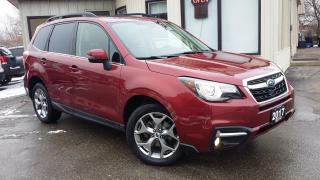 Used 2017 Subaru Forester 2.5i Limited - LEATHER! NAVIGATION! BACK-UP CAM! BSM! for sale in Kitchener, ON