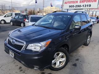 Used 2016 Subaru Forester Auto Backup Camera/Heated Seats/Bluetooth&GPS* for sale in Mississauga, ON