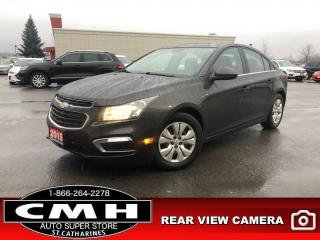 Used 2015 Chevrolet Cruze LT w/1LT  CAM PREM-AUDIO BT P/GROUP for sale in St. Catharines, ON