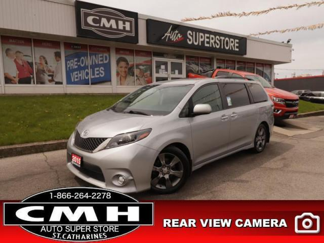 2015 Toyota Sienna SE  P/SEAT P/SLIDERS P/GATE CAM HS LEATH