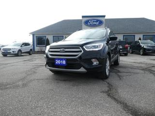 Used 2018 Ford Escape SEL - NAVIGATION - PANORAMIC ROOF - HEATED SEATS for sale in Essex, ON