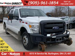 Used 2015 Ford F-350 XL| 4X4| RAIL TRUCK| LEATHER| OPEN SUNDAYS| for sale in Burlington, ON