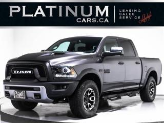 Used 2017 RAM 1500 REBEL 4X4, 5.7L V8, 395HP, CAM, HEATED SEATS for sale in Toronto, ON