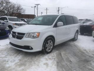Used 2018 Dodge Grand Caravan Crew Plus 2RM for sale in Terrebonne, QC