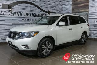 Used 2016 Nissan Pathfinder SV AWD+CAM. RECUL+BLUETOOTH+VOLANT CHAUFFANT for sale in Laval, QC
