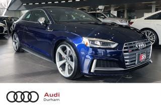 Used 2019 Audi S5 Technik 3.0T + NEW   Loaded!   Navigation for sale in Whitby, ON