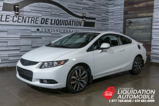 Used 2013 Honda Civic EX-L+TOIT+GPS+CUIR+MAGS for sale in Laval, QC