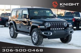 New 2020 Jeep Wrangler Unlimited Sahara for sale in Swift Current, SK