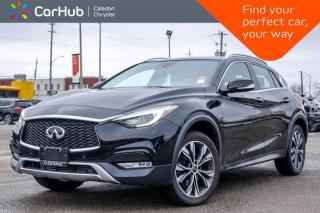 Used 2017 Infiniti QX30 AWD Navigation Panoramic Sunroof Backup Camera Bluetooth Leather Heated Front Seats 18