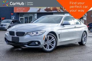 Used 2016 BMW 4 Series 428i xDrive|Navi|Sunroof|Bluetooth|Backup Cam|Leather|Heated Seats|18