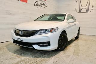 Used 2016 Honda Accord EX I4 2 portes CVT for sale in Blainville, QC