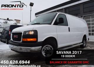 Used 2017 GMC Savana CARGO 2500 ** 4.8L ** Gr. Électrique ** CRUISE ** for sale in Laval, QC