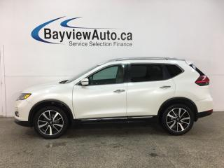 Used 2017 Nissan Rogue SL Platinum - AWD! HTD LTHR! PANOROOF! NAV! ONLY 39,000KMS! for sale in Belleville, ON