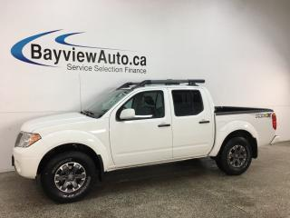 Used 2019 Nissan Frontier PRO-4X - HTD LEATHER! SUNROOF! NAV! + MUCH MORE! for sale in Belleville, ON
