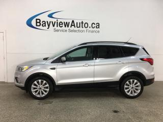Used 2019 Ford Escape SEL - 4WD! PANOROOF! HTD LTHR! ADAPTIVE CRUISE! + MORE! for sale in Belleville, ON