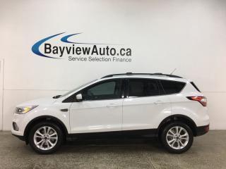 Used 2017 Ford Escape SE - 4WD! HTD LTHR! BIG SCREEN! PWR LIFTGATE! for sale in Belleville, ON