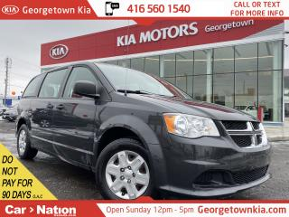 Used 2012 Dodge Grand Caravan SE | POWER GRP | ECO MODE | CRUISE | AUX INPUT for sale in Georgetown, ON